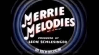 Merrie Melodies Openings And Closings (1931-1964)