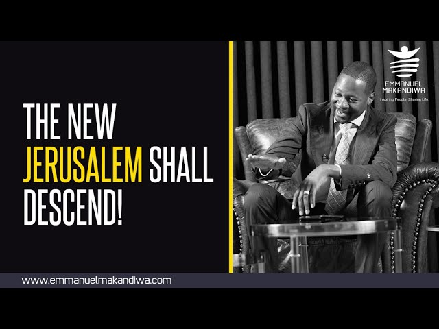 Emmanuel Makandiwa latest teaching| Will Earth be the foundation of the New Jerusalem?