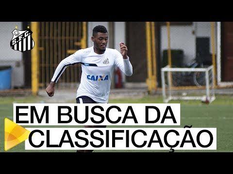 Santos B se prepara para partida decisiva na Copa Paulista