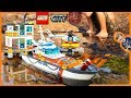 Lego City Coast Guard Headquarters Epic Sea Rescue Mission + Time Lapse Build!