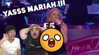 Mariah Carey - Live Vocal Range : The 2000's REACTION