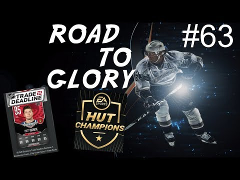 Competitive and HUT Champions  qualifiers -  ROAD TO GLORY E63  NHL 18 Ultimate Team