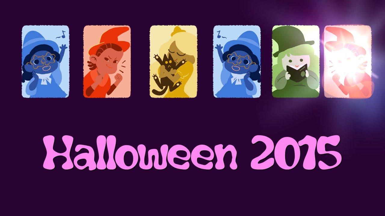 ? Halloween 2015 ? Google Doodle ? 31.10.2015 ? Global Candy Cup 2015 - gelb hat gewonnen - YouTube