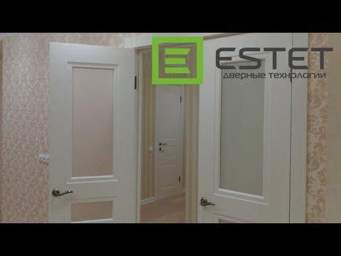 Установка пяти дверей в Чебоксарах. Фабрика ESTET.