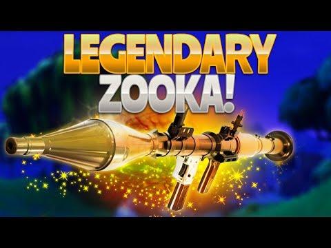 LEGENDARY ZOOKA! (Fortnite Battle Royale)
