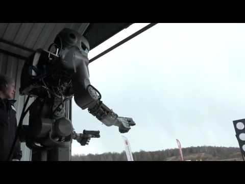 Quinn & Cantara Morning Show - Russia is sending this Gun Toting Robot named Fedor into Space