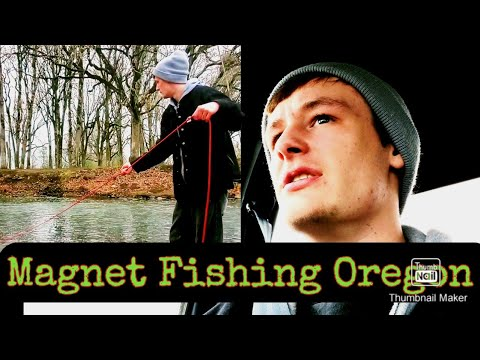 Magnet fishing SALEM OREGON