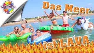 DAS MEER IST LAVA Challenge am Strand - Family Fun