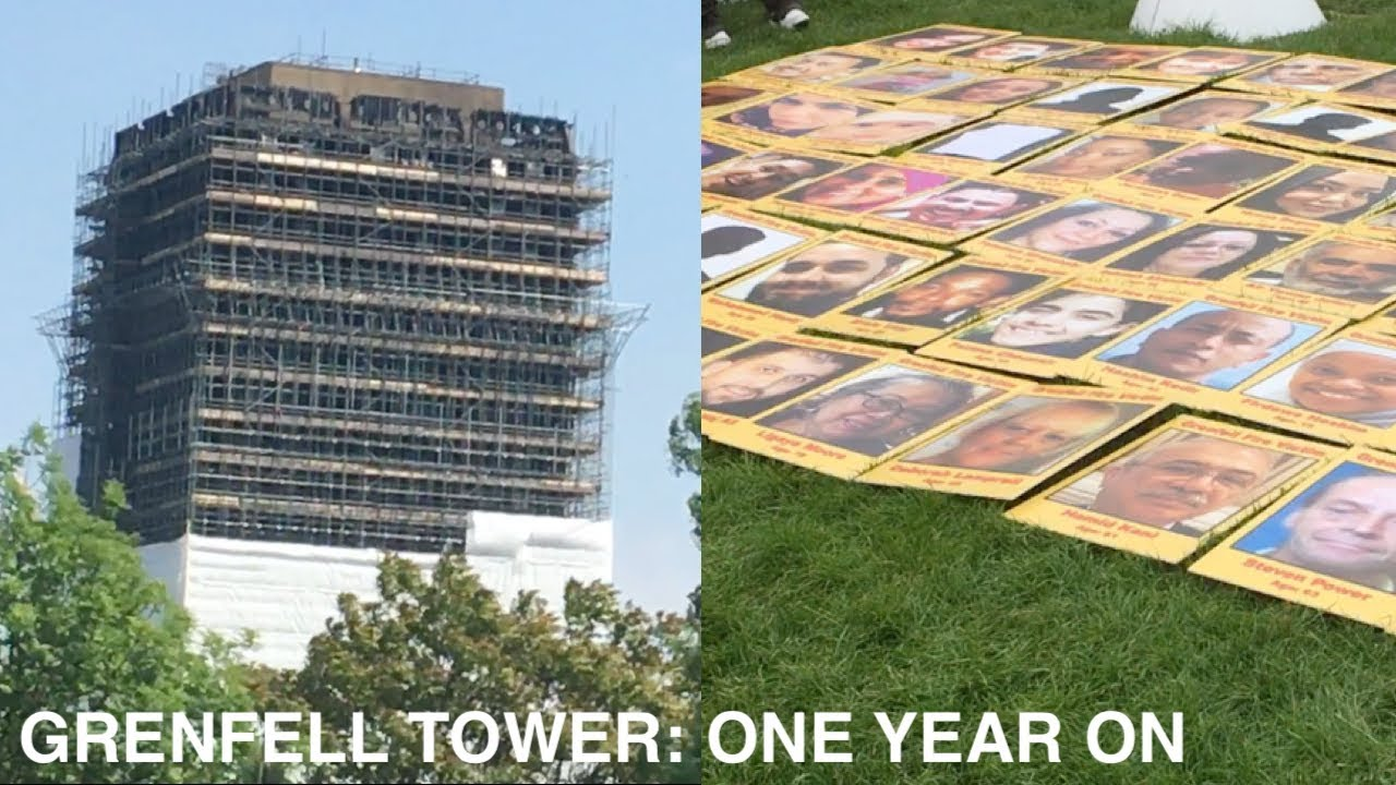 Grenfell Tower, One Year On: A Crime Against Humanity