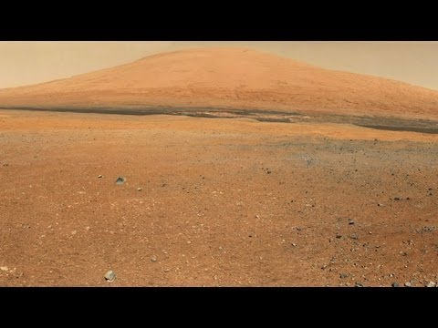 Curiosity's Great View, Color 360-Degree Panorama | NASA JPL MSL Rover Mars Gale Crater HD