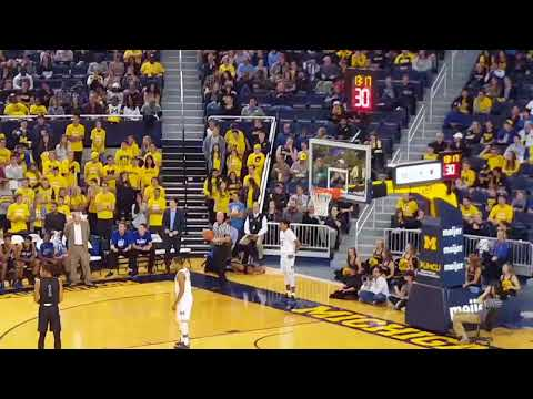 Michigan vs. Grand Valley State men's basketball!
