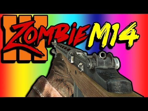 M14 ADDED To BO3 Zombies (Game Play)