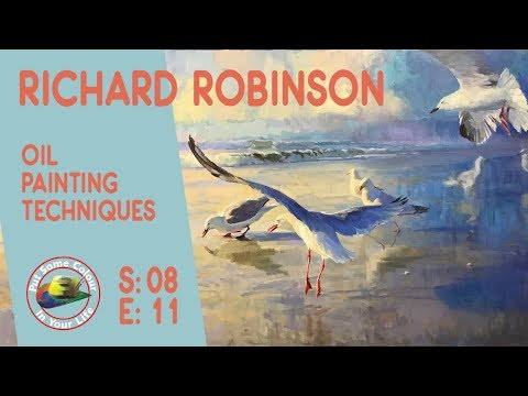 Fine art tips on How to Paint Landscapes in Oils with Richard Robinson on Colour In Your Life