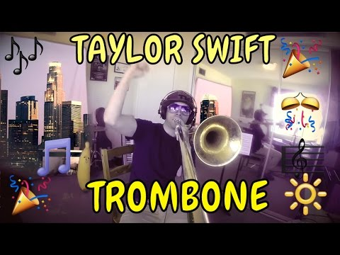 trombone gopro - Taylor Swift - Shake It Off - GoPro Trombone Cover