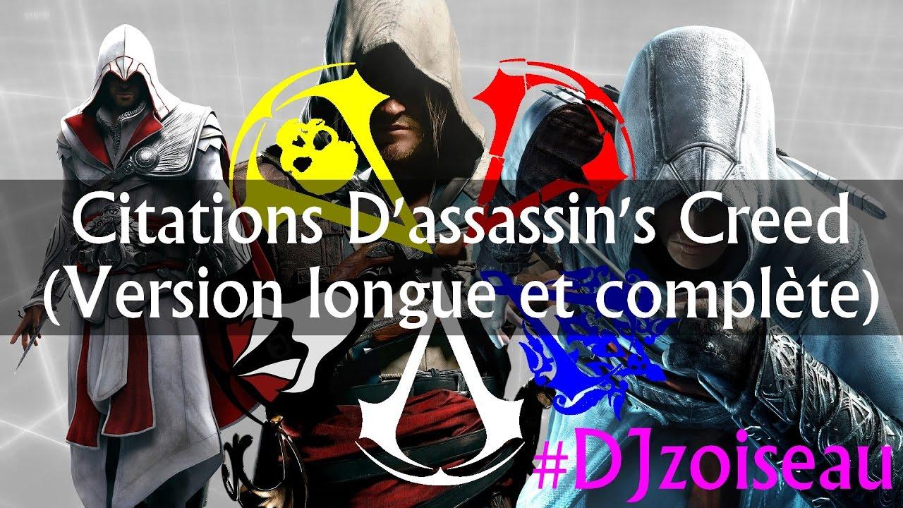 Super Assassin's Creed - Montage de citations (Version longue et  TF68