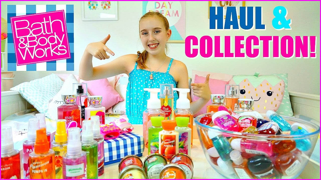 Bath & Body Works Haul and Collection - Pocketbacs, Body Mists and More
