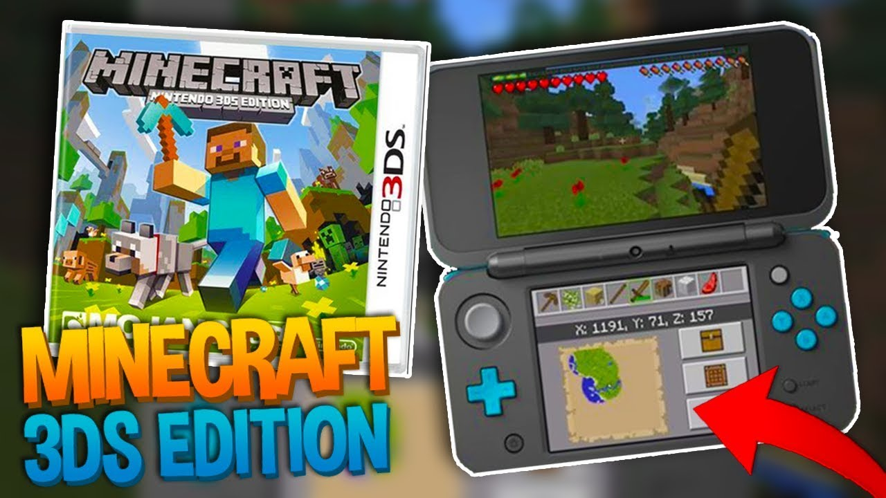 Is there a Minecraft game for 3DS? - Answers