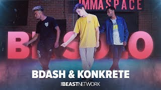 BDASH & KONKRETE - BK SOLO  | Bdash & Konkrete Choreography | IMMASPACE Class