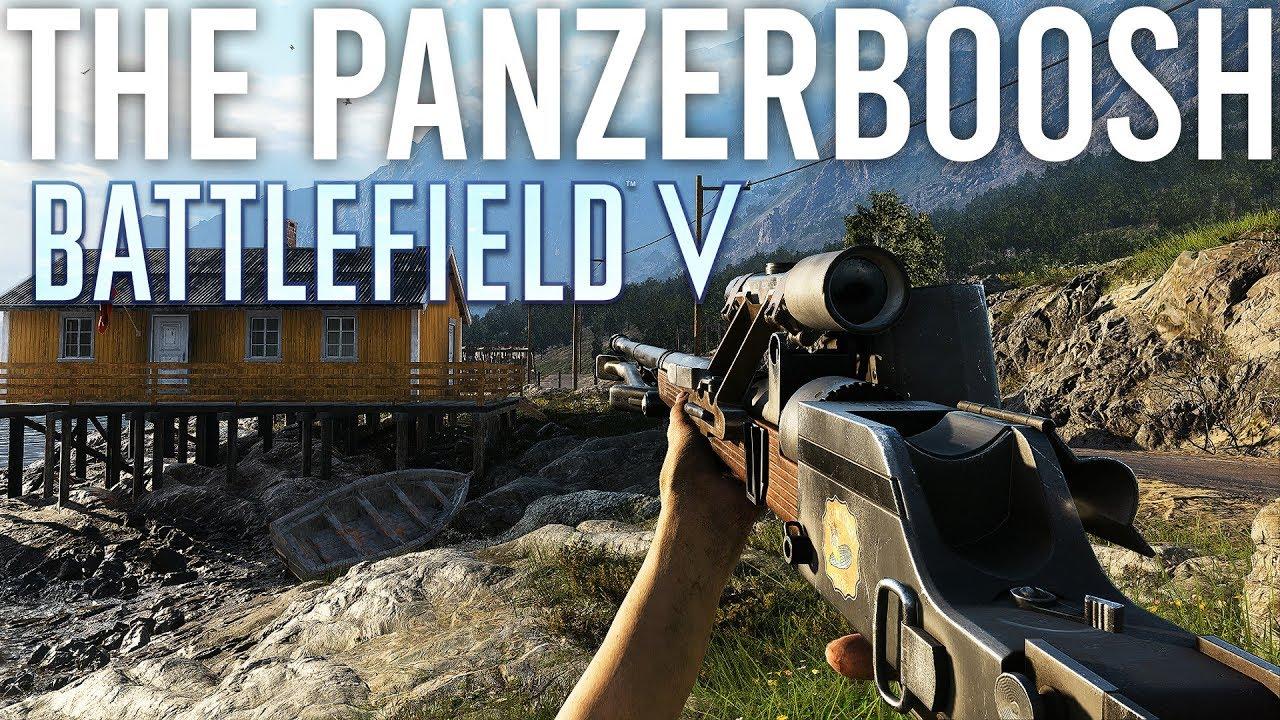 The PanzerBOOSH - Battlefield 5 New Gun