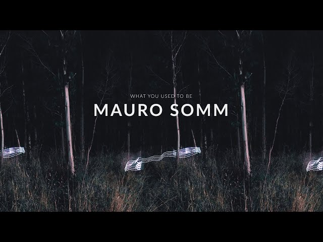 What You Used To Be - Mauro Somm [Audio Library Release]