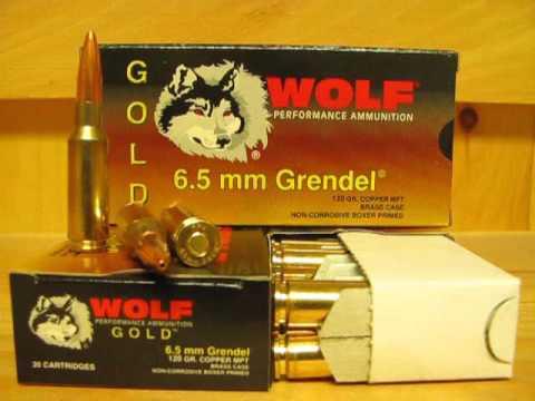 Sgammo Wolf Gold
