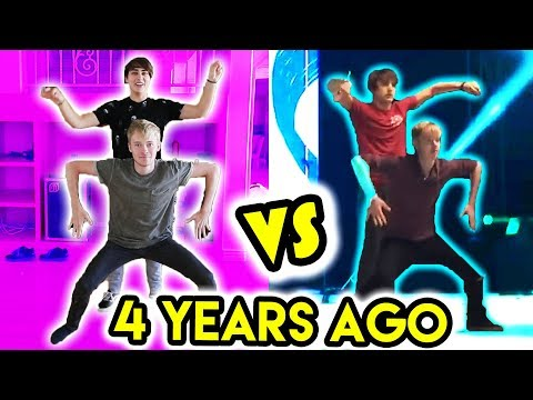 REMAKING OUR OLD DANCE ROUTINE | (Dear Sam)