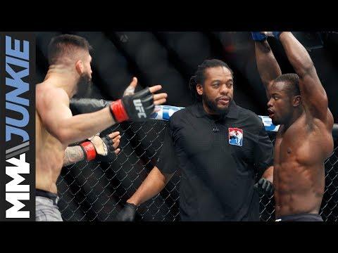 UFC 218: Abdul Razak Alhassan full post fight interview