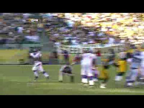 Adrian Peterson Plows over William Gay for a 25 Yard Gain