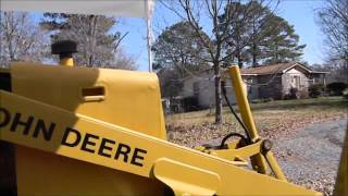 JOHN DEERE 1987 210C BACKHOE LOADER