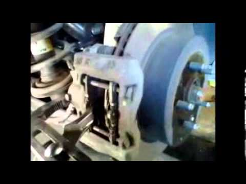 Replacement rear brake pads Lexus GS300 √ Fix it Angel  YouTube