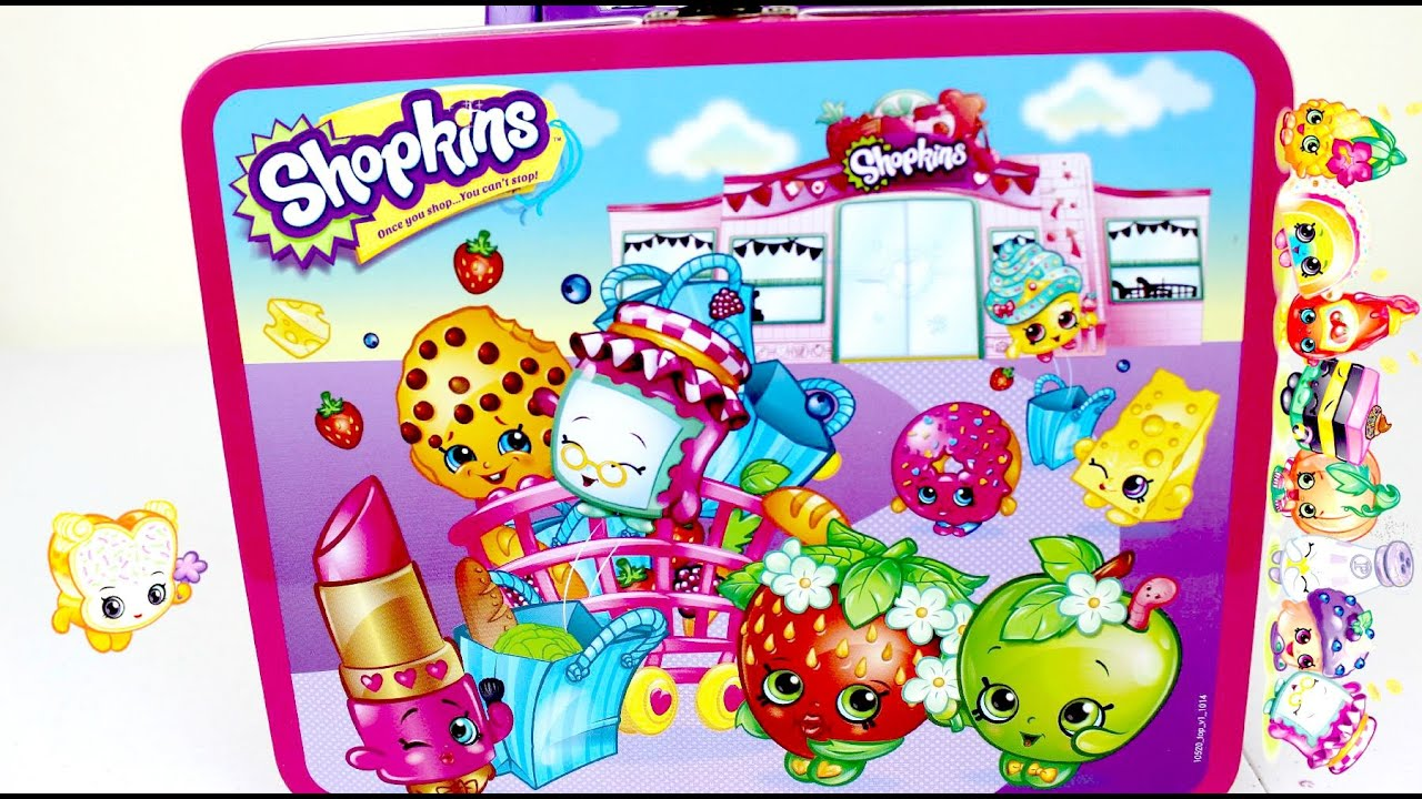 Juguetes shopkins caja con rompecabeza shopkins puzzle youtube