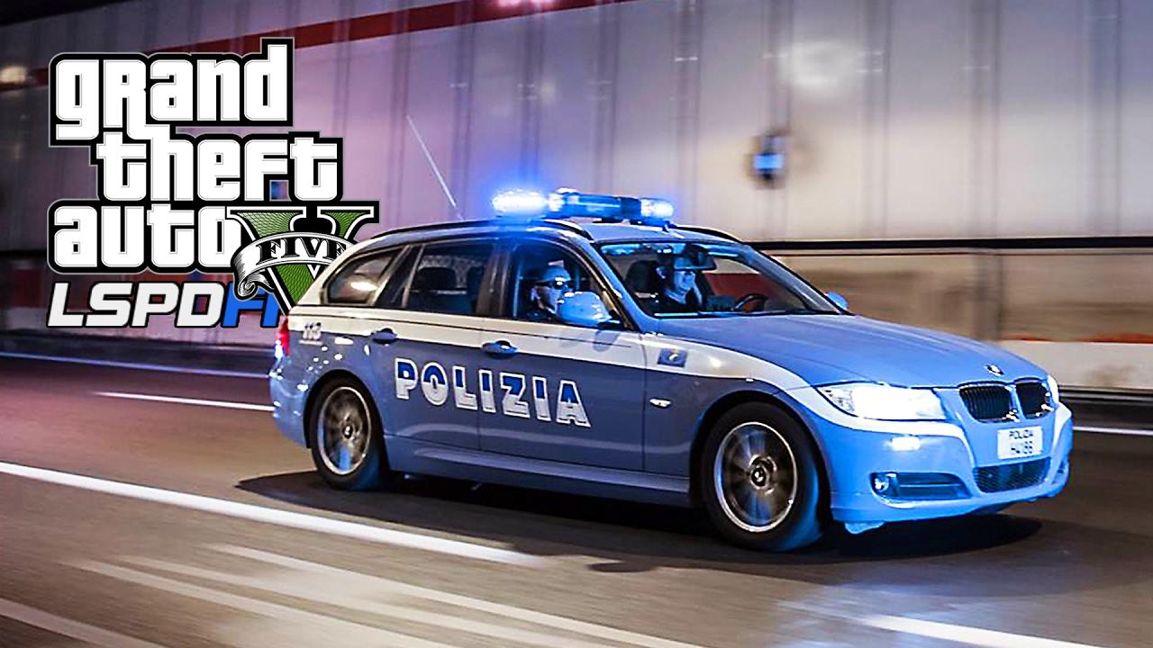 GTA 5  LSPDFR 35  POLIZIA DI STATO Festa Heavy Meta