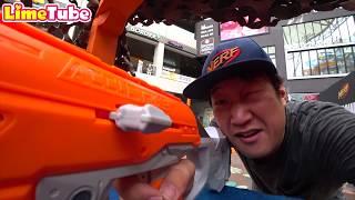 [방탈출]귀신방에서 2분안에 라임이를 구출하라! 과연 결과는?!너프 챔피언십 장난감총 놀이 Nerf Championship in Korea | LimeTube & Toy 라임튜브
