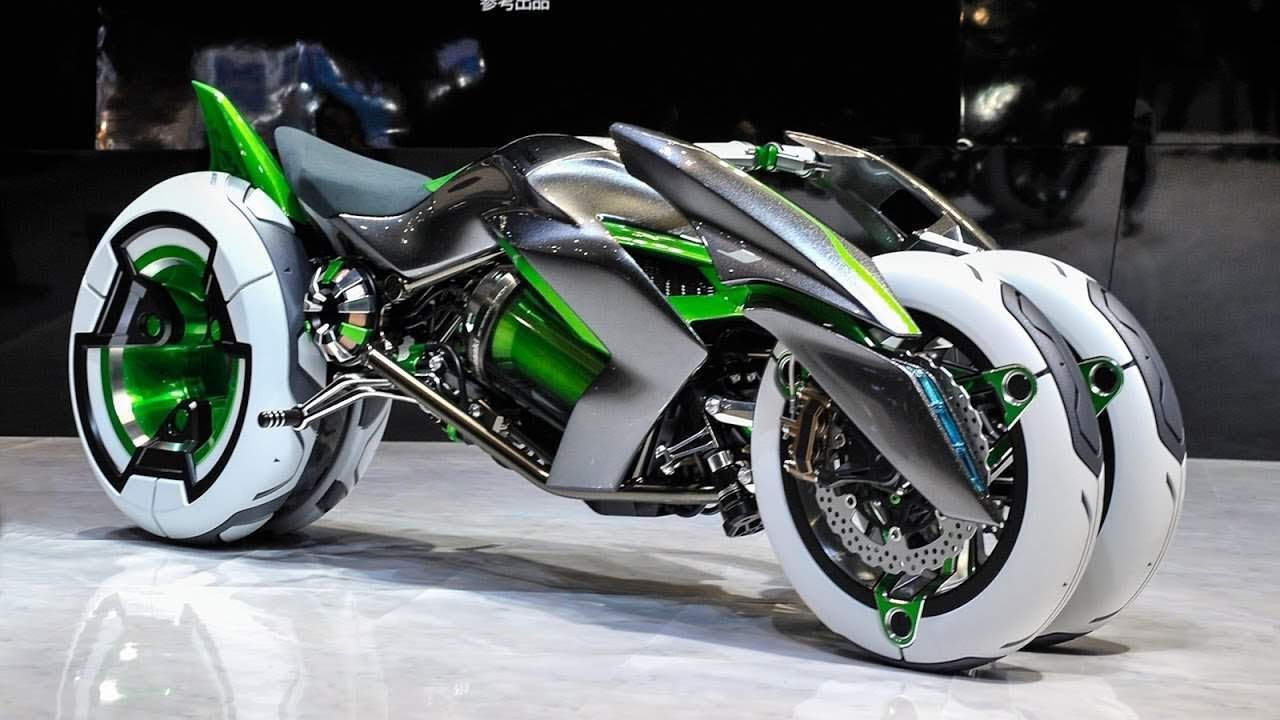 8 Amazing Motorbikes with Innovative Designs