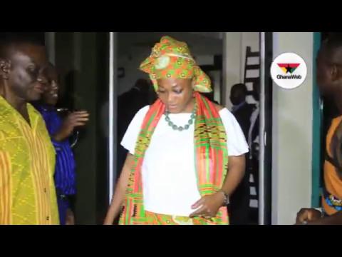 Otiko Djaba, Bugri Naabu at NPP National Council meeting