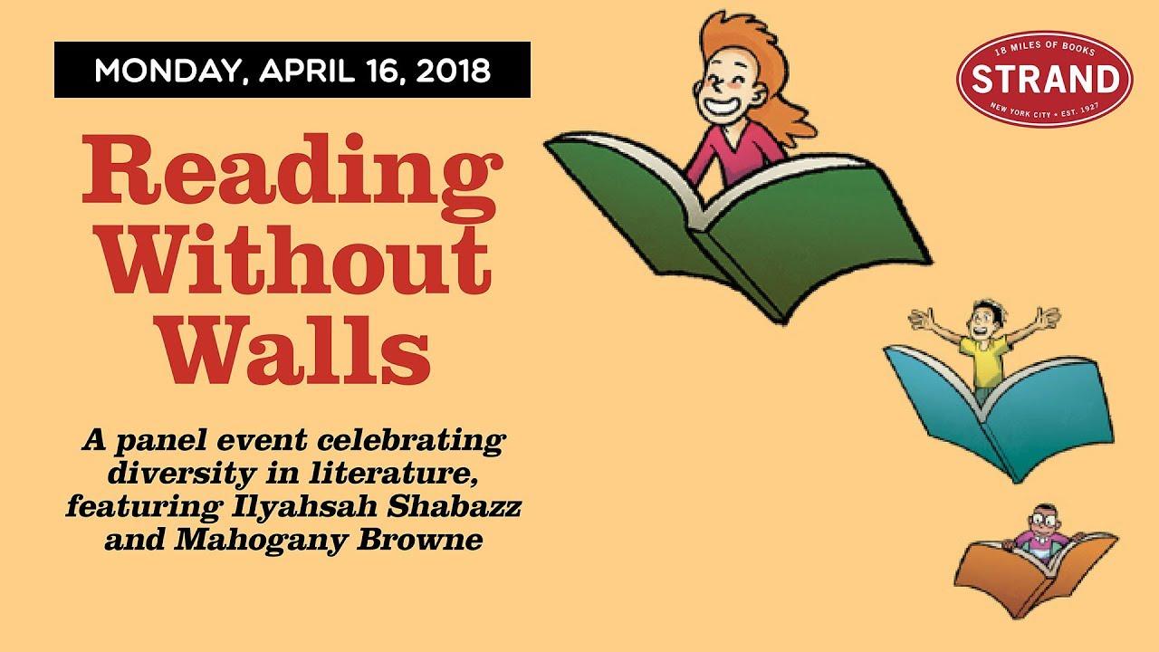 Reading Without Walls: Ilyasah Shabazz + Mahogany L. Browne