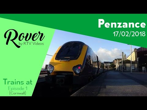 Trains at Penzance, CML - 17/2/18