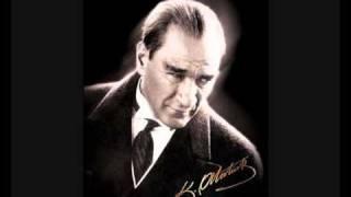 Atatürkün gercek sesi ile - NE MUTLU TÜRKÜM DIYENE