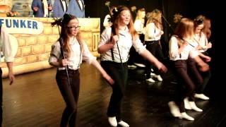Blaue Funker 2014 - Showtanz der Jungfunker Thema Schornsteinfeger