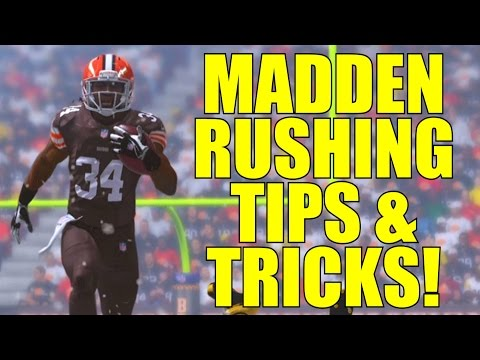 Madden NFL 15: Rushing Tips and Tricks! (Running The Ball Better)