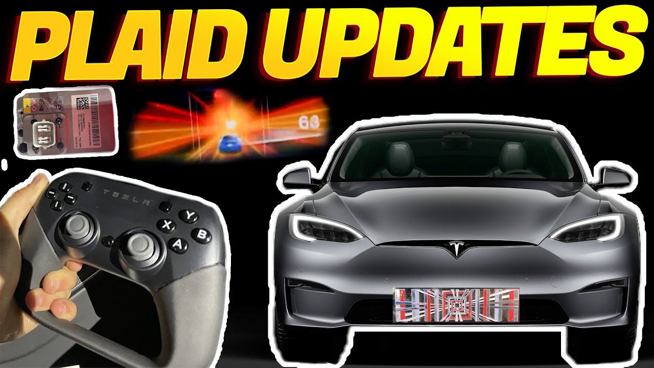Tesla Time News - New Plaid Updates Revealed!