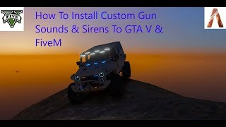 How to install sirens on fivem