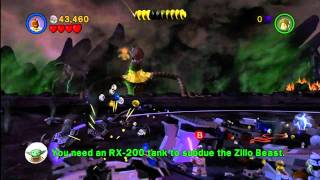 Lego Star Wars III: The Clone Wars How To Defeat The Zillo Beast Commentary 360/PS3/Wii