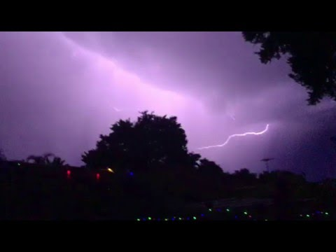 Clarkson Perth Western Australia lightning 14 03 2016