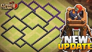 Clash of Clans - New BEST TH8 war base BOMB TOWER 2017    ANTI 3 star + Replays proof  