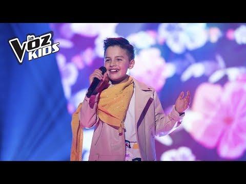 Juanse canta Yo No Me Doy Por Vencido | La Voz Kids Colombia 2018