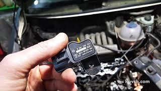 Загрязнение датчика давления наддува приводит к недостаточной мощности двигателя