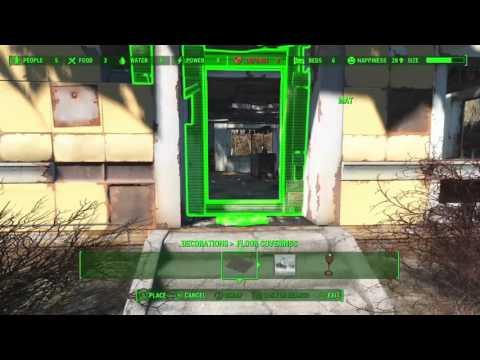 Fallout 4 trucos de construccion