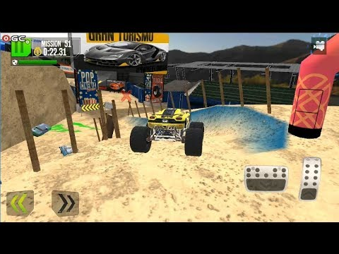 Monster Truck XT Airport Derby / Stunt Driving / Android Gameplay FHD #6