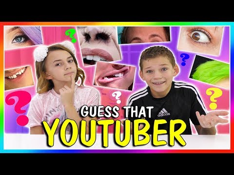 GUESS THAT YOUTUBER CHALLENGE | We Are The Davises